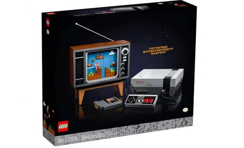 lego nintendo NES kit 71374